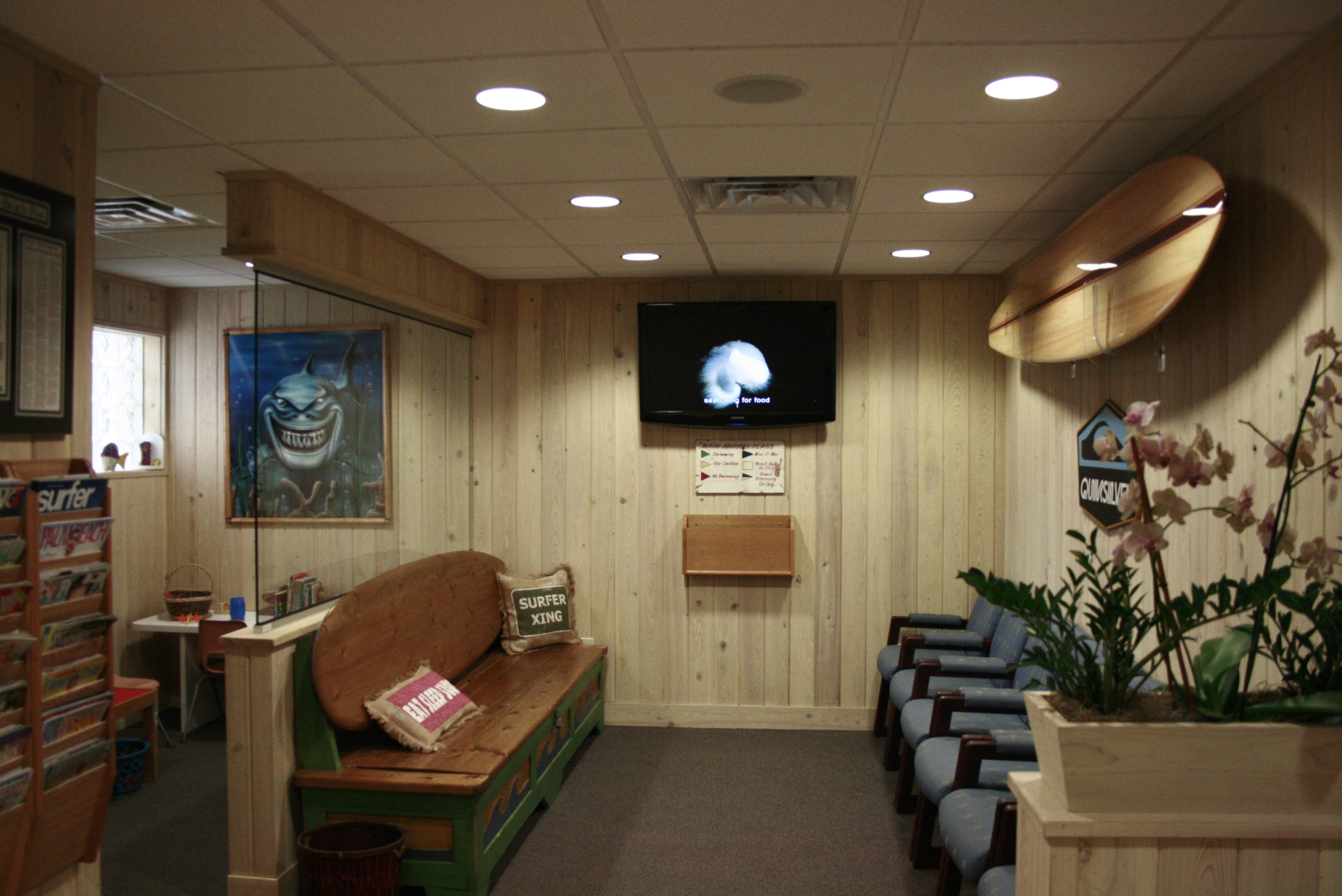 McCranels Ortho waiting area